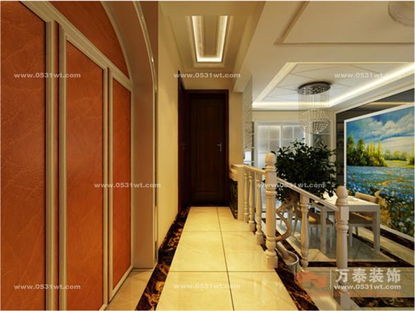 映月清水湾 简欧风格装修效果图欣赏 135平 三室两厅两卫一厨