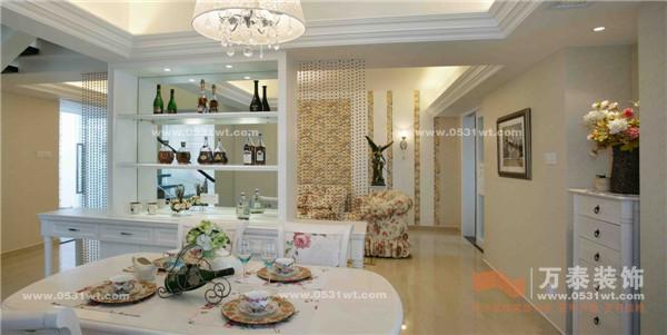 田园风格装修效果图 三室两厅一厨两卫_设计师案例