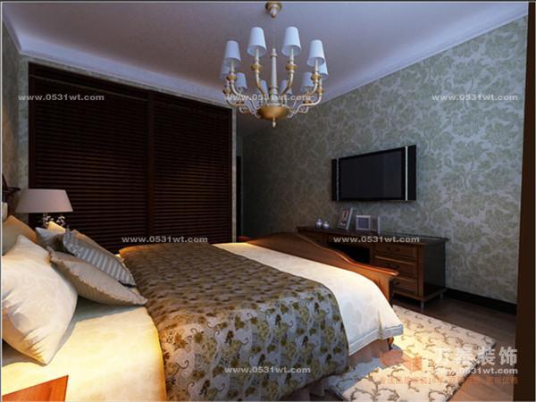 国华东方美郡装修设计宁静的港湾 三室两厅 170平 雅致港式装修效果图