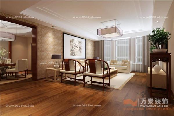 150平米新中式风格装修效果图与实景图