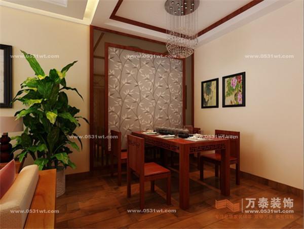 家具要实木中式  但要现代感十足   这个户型客餐厅一体  影视墙和