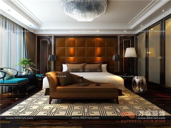 城375平米 中式装修效果图 设计师案例 万泰装饰 -泰安肥城桃都国际城