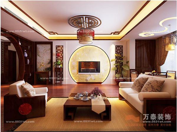 新中式木线条造型