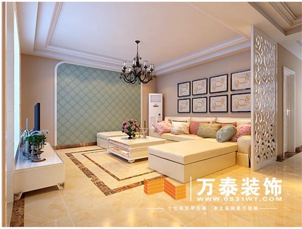 效果图 英建宿舍139平美式风格效果图 设计师案例 万泰装饰