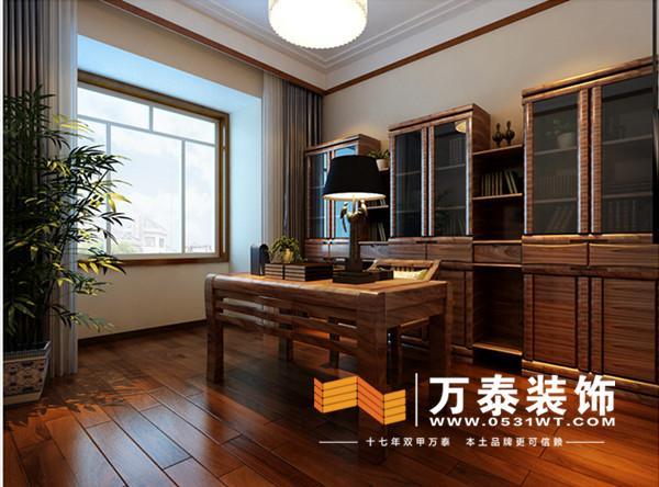 图 济南高速公路宿舍152平装修效果图 设计师案例 万泰装饰