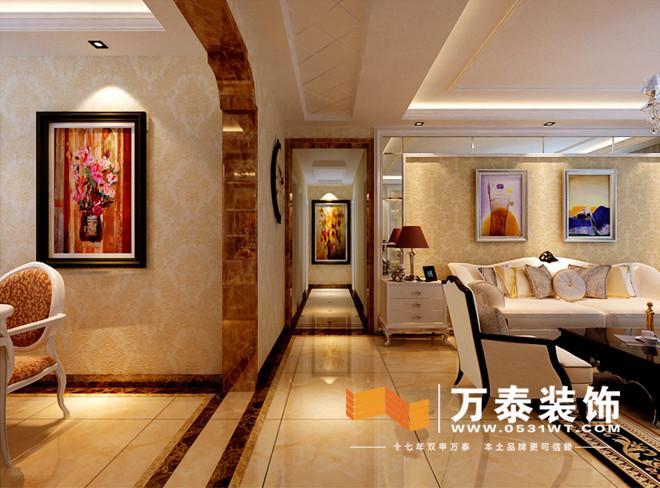 客厅的装修效果图: 餐厅的设计效果图: 如果
