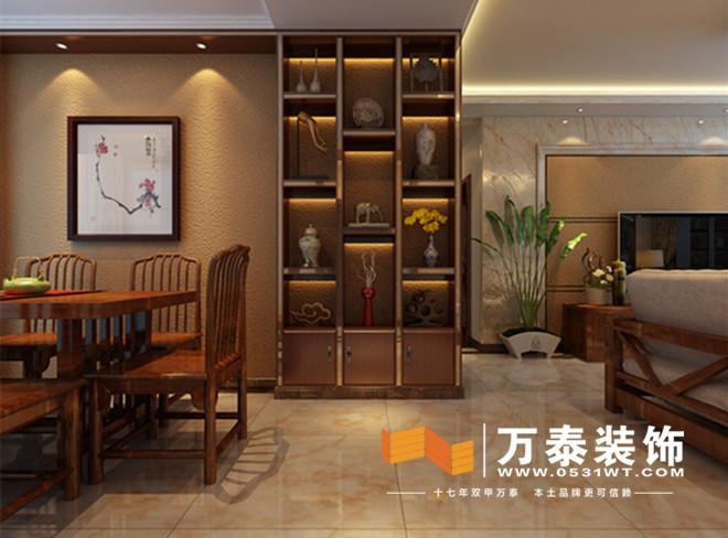 家具典型新中式风格加之硅藻泥