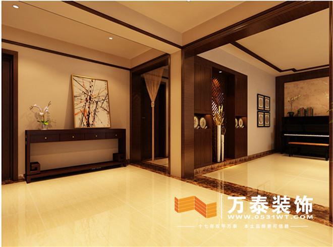 装修风格: 中式风格 设计师:薛伟   基装造价:8万   主要建材品牌