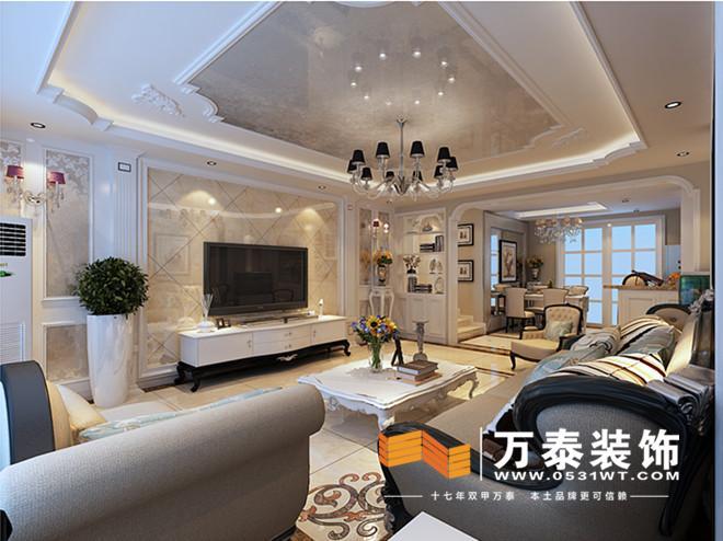 欧式客厅装修效果图冰箱