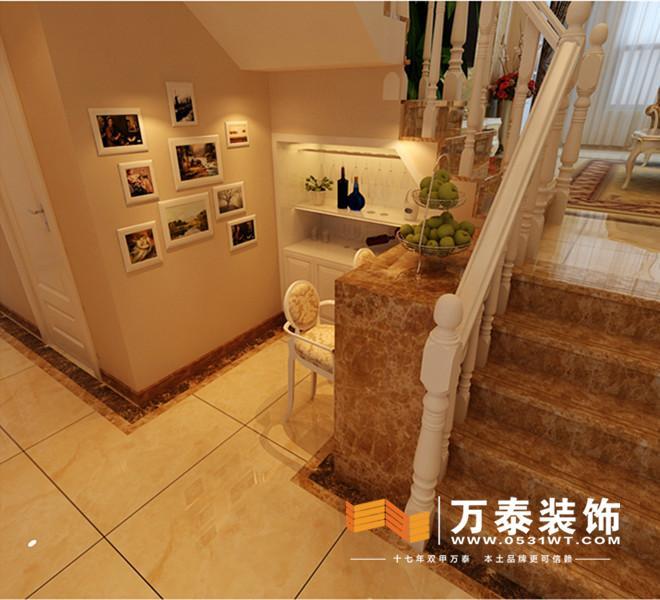 设计说明:       本案例位于长清长清 ·原香溪谷, 简欧风格图片
