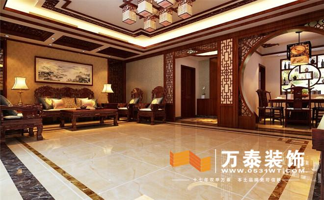 是一个完整的区域,中国人讲究平衡,特别是中式风格,在演绎设计的过程