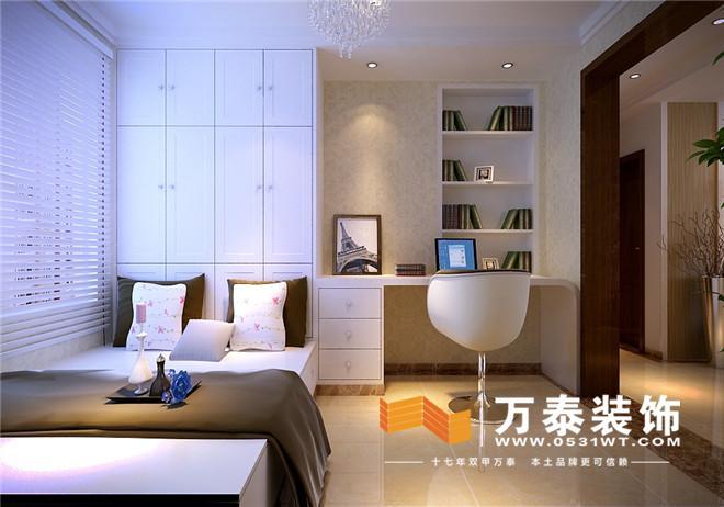 挑设计:名士豪庭87平现代简约风格装修效果图与实景图