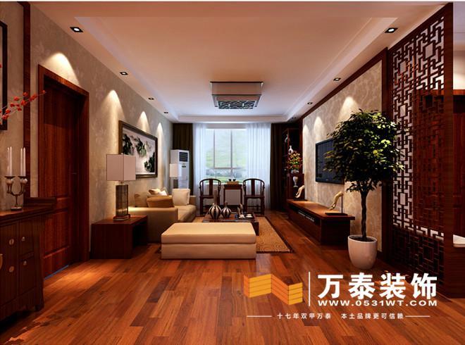文景苑小区,为 新中式风格,中国风的构成主要体现在传统家具,装饰品及