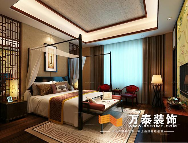 十二师(蓝天家园), 新中式风格,设计运用中式元素构成,搭配新中式家具