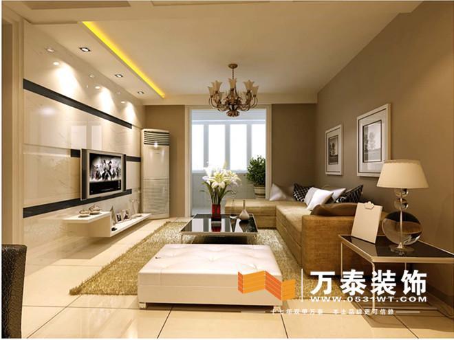 项目名称:经纬家园 设计师:李备 面积:94平 户型:两室两厅 风格:现代简约 工程造价:13万 所用材料: LD陶瓷 窗帘 浪鲸洁具 榆木饰面 皇冠壁纸 设计说明: 此案例位于济南经纬嘉园,为现代简约风格,它的特点是简约而不简单。整体色调采用黑白灰的处理,客户是在北京工作的白领一族,客餐厅是简约的黑白搭配,更符合客户的工作及自己的喜好。吊顶采用局部突出的形式,影视墙及餐厅,主次分明。餐厅的花格镜面设计更突出现代简约风格的特点。以婚房为主题的设计突出在主卧室的设计上,卧室的布局以实用为主,增添相应的挂画配