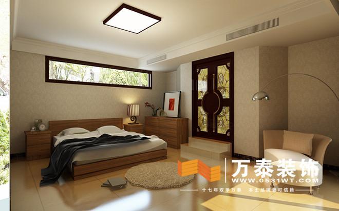 欧式八角主卧室装修效果图
