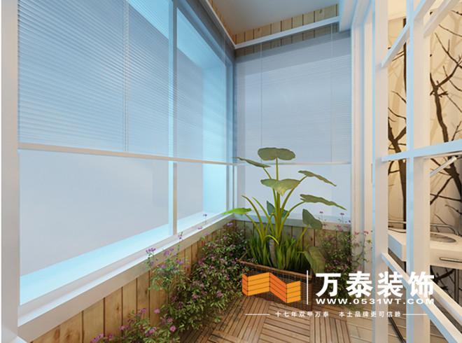 济南新世界阳光花园北欧极简风格装修效果图|济南新9