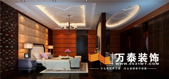 本案位于济南奥龙观邸,新古典主义风格,考虑到客厅层高较高,设计师设计了大面积的大理石,目的是让空间更加开阔,又不显得凌乱。仿旧欧式银色镜框线与镜面玻璃的结合流露出古典风韵。软包与大理石的运用在材质上形成强烈的对比。色彩的运用上,坚持统一原则的同时,为防止过于呆板,部分又采用了对比色,使得整个空间充满层次感。 奥龙观邸-一楼客厅的装修效果图:   奥龙观邸-一楼餐厅的装修效果图:  奥龙观邸-茶室的装修效果图:  奥龙观邸-书房的装修效果图:  奥龙观邸-棋牌室的装修效果图:  奥龙观邸-主卧的装修效果图:
