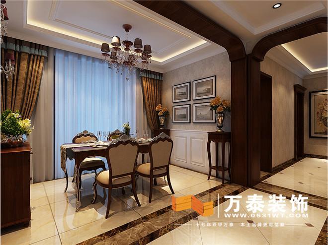 10区170平法式新古典装修效果图 济南阳光100K10法式新古典装修