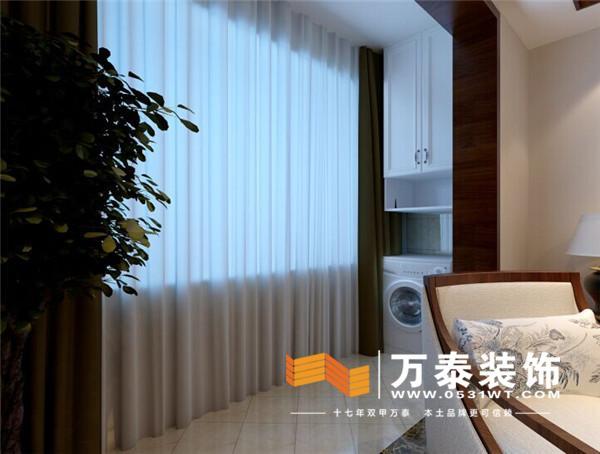 中海国际社区120平装修效果图丨中海国际社区现代中式装修效果图