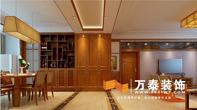 室内陈设有字画,挂屏,盆景,瓷器,古玩,博古架等,追求一种修身养性的