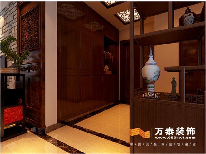 济南名泉春晓新中式风格装修效果图高清图片