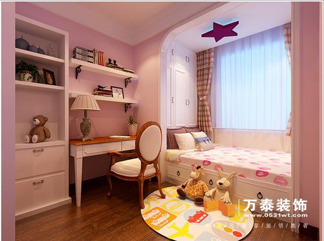 阳光100k10-客厅阳台的装修效果图: 儿童房:儿童房的榻榻米的处理