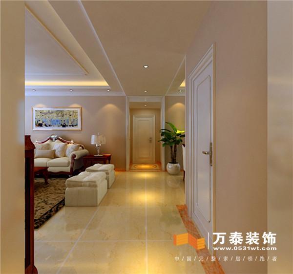 材质和色调,现代简约的欧式风格 中海国际b3-客厅的装修效果图: 预约