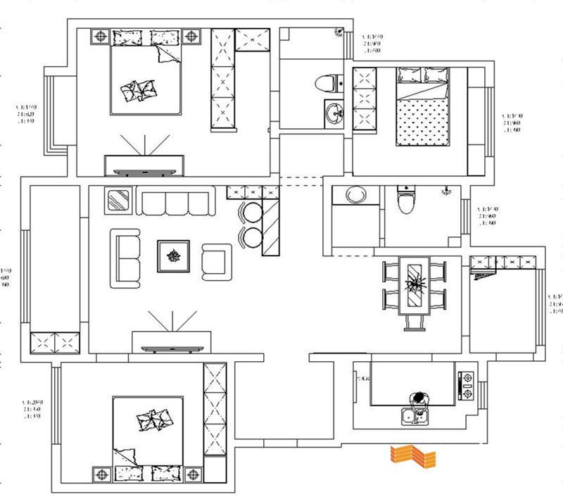 电路 电路图 电子 户型 户型图 平面图 原理图 800_716