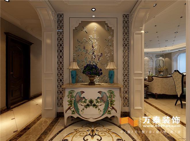 锦兰园美式风格装修效果图 济南锦兰园美式风格四室两厅装修效果图