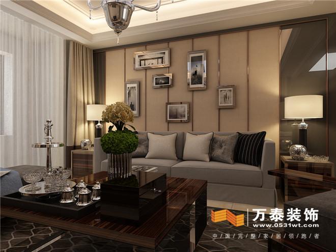 济南泰悦赫府现代港式风格装修设计案例|济南泰悦赫府