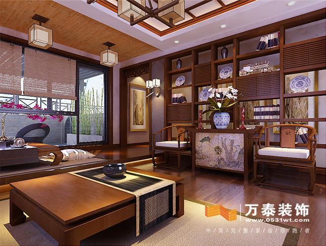 南京锦绣花园联排别墅欧式风格装修设计案例|南京锦绣