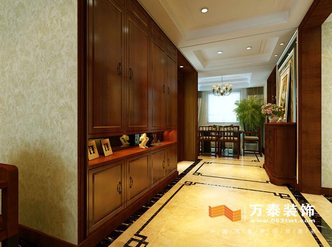 济南越秀园150平新中式风格室内装修案例_设计师案例