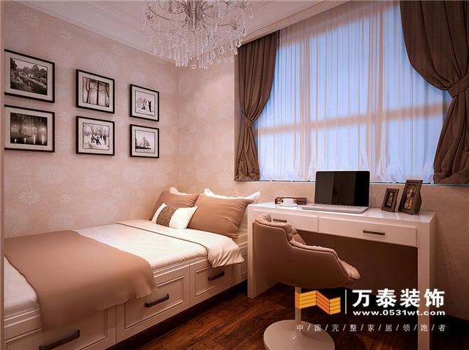 济南绿城百合140平简美风格装修设计案例_设计师案例