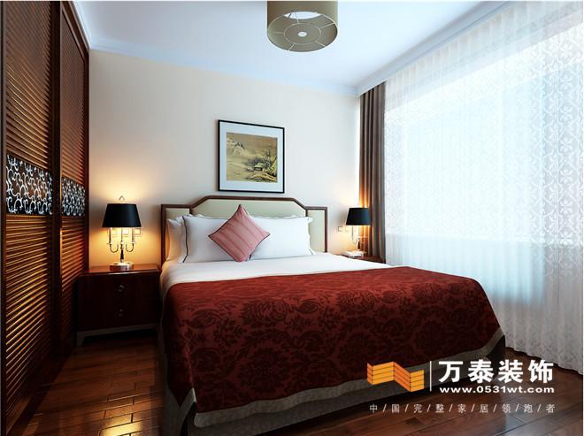 中式床头墙体立体雕花