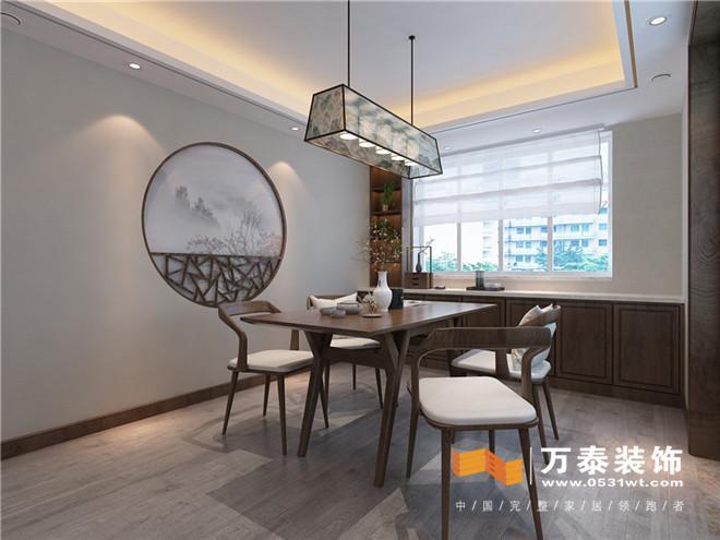 """材料餐厅墙增加背景的""""借景""""空间,借鉴了室内园林的趣味性室内设计手法美的文章图片"""