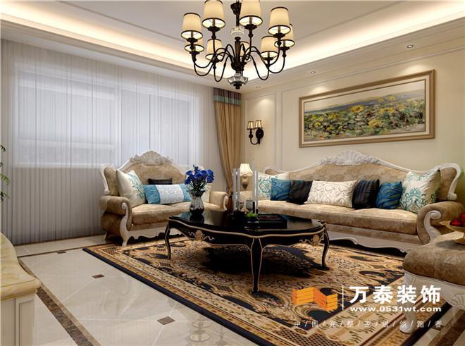 和客廳呼應運用石膏線造型做點綴凸顯大雅之范.