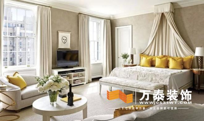 万泰装饰:新古典主义卧室