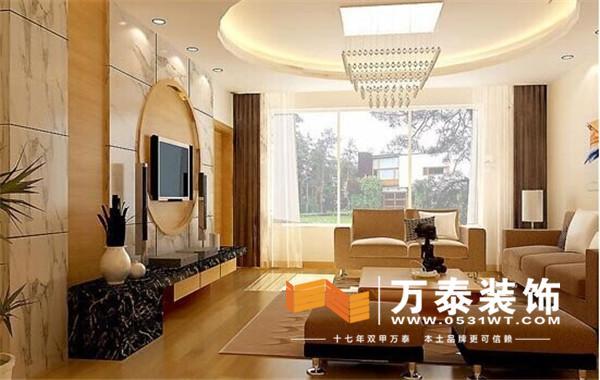 济南装修:虽然现在人们的家居设计越来越时尚,但传统的中国人对于客厅财位的重视程度依然很深。客厅财位在客厅方位中至关重要,关系着整个家运,包括财运、声望、事业的兴衰等等,所以切不可小看客厅财位的布置。那么,究竟客厅财位在哪里?客厅财位该如何布置?相信很多人尤其是年轻人还是不懂,财位的布置有诸多讲究,下面,万泰小编为大家总结了以下十大注意事项,想要了解的朋友们不妨看一下。