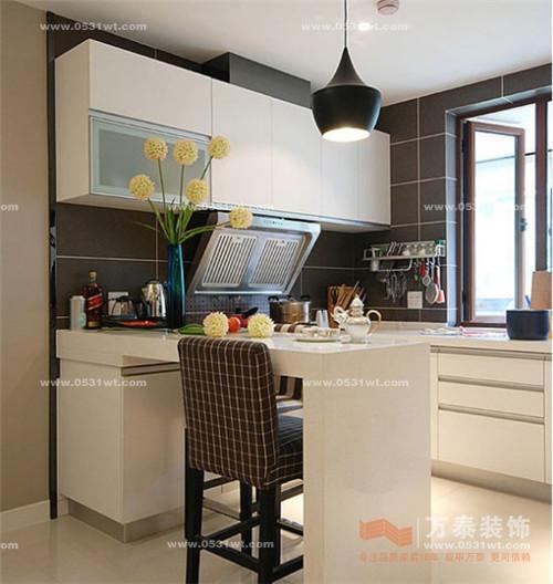 济南装修公司 半开放式厨房 打造时尚生活