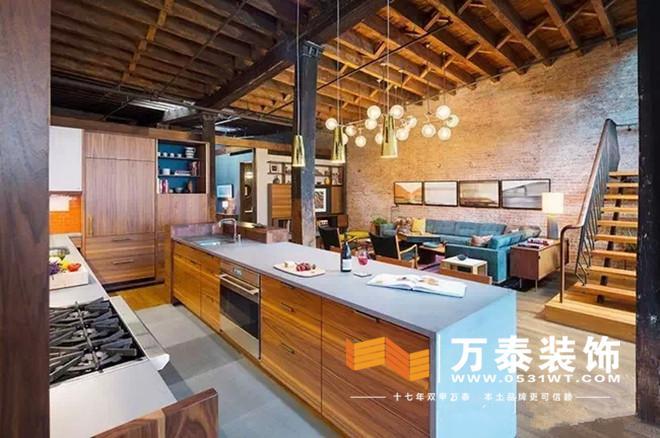 济南装修公司:个性loft公寓装修效果图